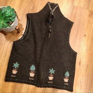 Vintage Woolrich Lambswool Sweater Vest